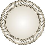 Unique circle frame with place for your text. Stock Images
