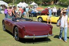 Unique classic sportscar Stock Photo