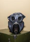 Unique collection of ex Soviet (USSR) gas masks.  Stock Photos