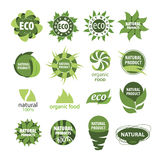 Icons of natural products Royalty Free Stock Photography