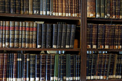 Unique collection of scientific library of St. Petersburg University Stock Images