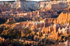 Unique and colorful hoodoo rock Royalty Free Stock Photos