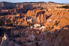 Unique and colorful hoodoo rock Stock Images