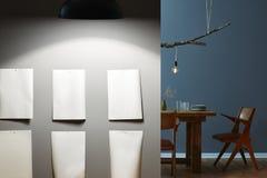 Unique and creative interior design Stock Image