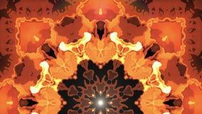 Unique de ondulation en mouvement doux de fond d'animation d'énergie de Digital de lave de nuage symétrique ornemental turbulent  illustration de vecteur