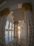 Unique design of Sheikh Zayed Mosque Royalty Free Stock Images