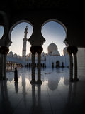 Unique design of Sheikh Zayed Mosque Royalty Free Stock Photography