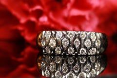 Unique diamond ring Royalty Free Stock Photos