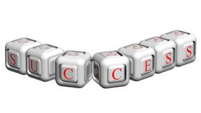 Unique dice Royalty Free Stock Images