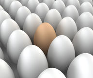 Unique egg Royalty Free Stock Images