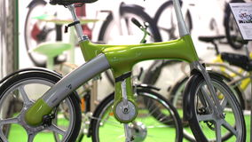 Unique electric bicycle Mando Footloose without chain. stock video footage