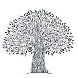 Unique ethnic tree of life vector illustration