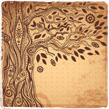 Unique ethnic tree of life Royalty Free Stock Images