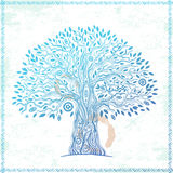 Unique ethnic tree of life Royalty Free Stock Photo