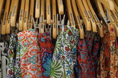 Unique fabric and clothing Stock Photography