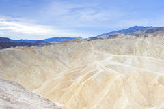 Unique and Fanciful Badlands Formations of Zabriskie Point in De Royalty Free Stock Photos