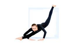 Unique flexibility Stock Image