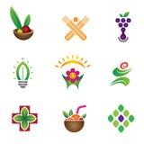 Unique food & health symbol Stock Photography