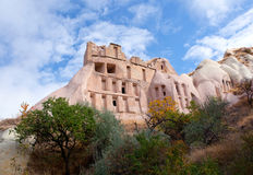 Unique geological formations in Cappadocia, Central Anatolia, Tu Stock Image