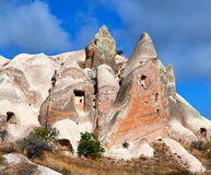 Unique geological formations in Cappadocia, Turkey Stock Photo