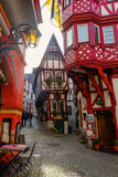 Unique half-timbered buildings in Bernkastel-Kues Royalty Free Stock Photos