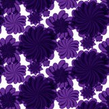 Unique hand drawn abstract floral background. Stock Photo