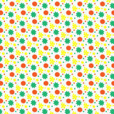 Unique hand drawn abstract floral background. Royalty Free Stock Photography
