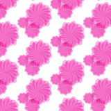 Unique hand drawn abstract floral background. Royalty Free Stock Photo