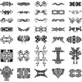 Unique Hand-drawn Vector Elements Collection Royalty Free Stock Photo