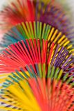 Showpiece object colorful handicrafts background photograph Stock Images
