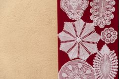 Unique handmade lacework Royalty Free Stock Photo