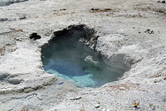 Unique hot spring Royalty Free Stock Image
