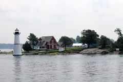 Unique house on the island Stock Images