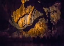 Unique image of Puerto Princesa subterranean Royalty Free Stock Photography