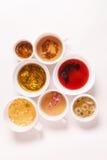 Unique kinds of tea Stock Images