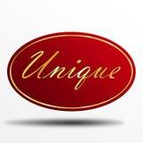 Unique label Royalty Free Stock Photo