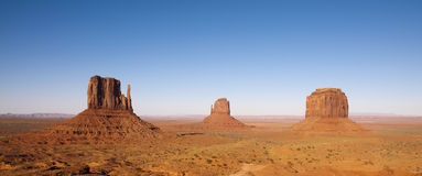The unique landscape of Monument Valley, Utah, USA. Stock Images