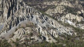 Unique limestone formations Royalty Free Stock Photography