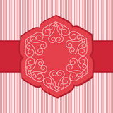 Unique Lotus Flower Banner Royalty Free Stock Photography