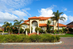 Unique luxury home Stock Images