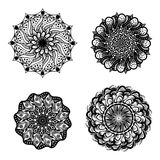 Unique mandala set image. S that can be printed in any media, on tshirt, poster, etc Stock Photography