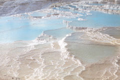 Unique nature wonder in Pamukkale, Turkey Royalty Free Stock Photo