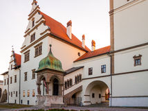 Unique Old Town Hall in Levoca town. Stock Images