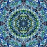 Unique ornament batik. Seamless pattern Stock Photo
