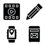 Data Communication Icons Pack vector illustration