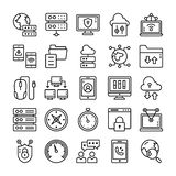 Network and Communication Icons Pack vector illustration