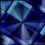 Unique Pattern In Dark Blue Stock Images