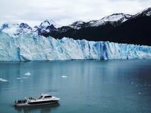 Unique the Perito Moreno Glacier stock photography