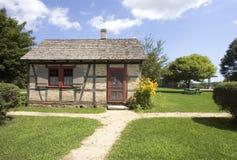Unique Pioneer Homestead Stock Photo