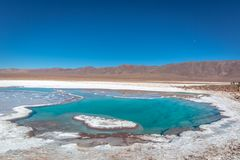 Unique place for nature lovers around the world in Chile stock images